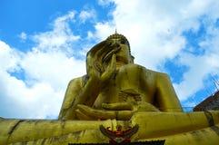 Εικόνα του Βούδα σε Ταϊλανδό Στοκ Εικόνες