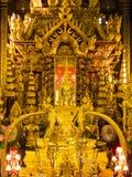 Εικόνα του Βούδα στο ναό της Ταϊλάνδης Στοκ φωτογραφία με δικαίωμα ελεύθερης χρήσης