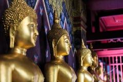 Εικόνα του Βούδα στο ναό Si Rattana Mahathat Phra Στοκ Φωτογραφία