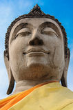 Εικόνα του Βούδα ψαμμίτη στοκ εικόνα