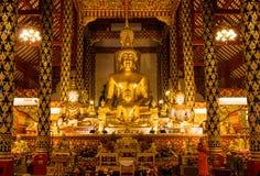 Εικόνα του Βούδα Phaputthachinnaraj στοκ φωτογραφία με δικαίωμα ελεύθερης χρήσης