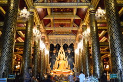 Εικόνα του Βούδα phuttha Phra chinnarat Στοκ Εικόνα
