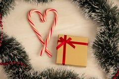 Εικόνα του δώρου Χριστουγέννων Στοκ Εικόνα