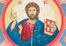 Εικόνα του Ιησούς Χριστού Στοκ Εικόνα