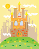 Εικόνα του κάστρου Στοκ Εικόνες