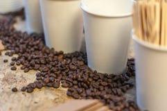 Εικόνα του καφέ Στοκ εικόνα με δικαίωμα ελεύθερης χρήσης