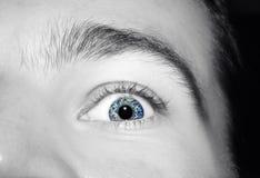 Εικόνα του μπλε ματιού ατόμων ` s Στοκ εικόνα με δικαίωμα ελεύθερης χρήσης