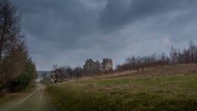 Εικόνα του τρόπου στο κάστρο Στοκ εικόνες με δικαίωμα ελεύθερης χρήσης