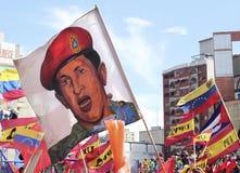 Εικόνα του Hugo Chavez στοκ εικόνα
