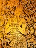Εικόνα το παράθυρο Wat Chedi Luang στοκ εικόνα με δικαίωμα ελεύθερης χρήσης