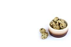 εικόνα των αυγών ορτυκιών Στοκ φωτογραφία με δικαίωμα ελεύθερης χρήσης