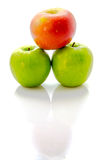 Εικόνα των μήλων Στοκ φωτογραφίες με δικαίωμα ελεύθερης χρήσης