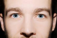 Εικόνα των μπλε ματιών ατόμων ` s Στοκ φωτογραφία με δικαίωμα ελεύθερης χρήσης