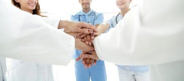 Εικόνα υποβάθρου μιας επιτυχούς ομάδας γιατρών σε ένα άσπρο υπόβαθρο στοκ εικόνες με δικαίωμα ελεύθερης χρήσης