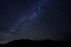 Εικόνα χρονικού σφάλματος των αστεριών νύχτας Στοκ φωτογραφίες με δικαίωμα ελεύθερης χρήσης