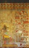 Εικόνα χρώματος της Αιγύπτου των anubis Στοκ φωτογραφία με δικαίωμα ελεύθερης χρήσης