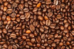 Εικόνα χρώματος των ψημένων φασολιών καφέ Στοκ φωτογραφία με δικαίωμα ελεύθερης χρήσης