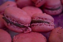 εικόνα macarons κανένα ροζ viewable Στοκ φωτογραφία με δικαίωμα ελεύθερης χρήσης