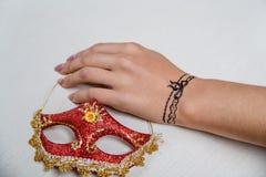 Εικόνα Mehendi σε διαθεσιμότητα Στοκ Εικόνα