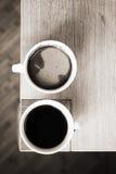 Πίνοντας καφές Στοκ Εικόνες