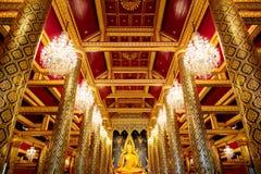 Εικόνα Phuttha Chinnarat Βούδας Phra στο ναό Si Rattana Mahathat Wat Phra σε Phitsanulok, Ταϊλάνδη Στοκ φωτογραφία με δικαίωμα ελεύθερης χρήσης