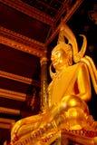 Εικόνα Phuttha Chinnarat Βούδας Phra στο ναό Si Rattana Mahathat Wat Phra σε Phitsanulok, Ταϊλάνδη Στοκ εικόνα με δικαίωμα ελεύθερης χρήσης