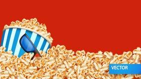 Εικόνα popcorn Στοκ Εικόνες