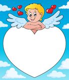 Εικόνα 4 thematics Cupid Στοκ φωτογραφία με δικαίωμα ελεύθερης χρήσης