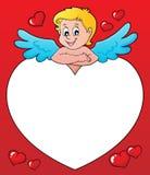 Εικόνα 3 thematics Cupid Στοκ Φωτογραφία