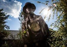 Εικόνα watchmaker στο φωτεινό stylization φαντασίας Στοκ εικόνες με δικαίωμα ελεύθερης χρήσης