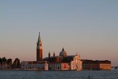 Εικόνες ηλιοβασιλέματος της Βενετίας, Ιταλία Στοκ Φωτογραφίες