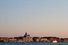 Εικόνες ηλιοβασιλέματος της Βενετίας, Ιταλία Στοκ εικόνες με δικαίωμα ελεύθερης χρήσης
