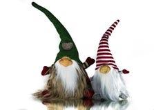 Εικόνες και απεικονίσεις Χριστουγέννων Αναμονή Santa Clauss στοκ φωτογραφίες με δικαίωμα ελεύθερης χρήσης
