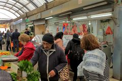 Εικόνες οδών farmenrs της αγοράς μπύρα-Sheva στοκ φωτογραφίες