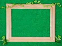 εικόνες πλαισίων ξύλινες Στοκ φωτογραφίες με δικαίωμα ελεύθερης χρήσης