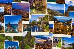 Εικόνες ταξιδιού της Πορτογαλίας νησιών της Μαδέρας οι φωτογραφίες μου Στοκ Εικόνα