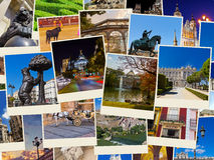 Εικόνες της Μαδρίτης Ισπανία (οι φωτογραφίες μου) Στοκ εικόνες με δικαίωμα ελεύθερης χρήσης