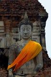 Εικόνες του Βούδα στους ναούς σε Ayutthaya, Ταϊλάνδη στοκ εικόνες με δικαίωμα ελεύθερης χρήσης