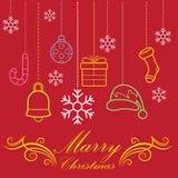 Εικόνες των Χριστουγέννων s Στοκ εικόνα με δικαίωμα ελεύθερης χρήσης