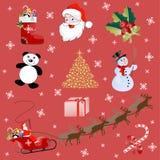 εικόνες Χριστουγέννων Ελεύθερη απεικόνιση δικαιώματος