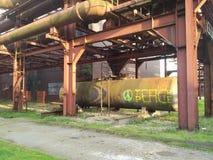 Ειρήνη γκράφιτι σε ένα βιομηχανικό μέρος στη Γερμανία στοκ φωτογραφίες με δικαίωμα ελεύθερης χρήσης