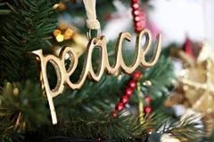 ειρήνη διακοσμήσεων στοκ φωτογραφία με δικαίωμα ελεύθερης χρήσης