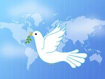 ειρήνη περιστεριών Στοκ Εικόνα