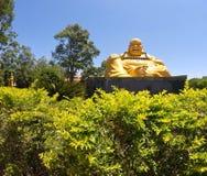 Ειρήνη σε έναν βουδιστικό ναό στοκ εικόνες με δικαίωμα ελεύθερης χρήσης