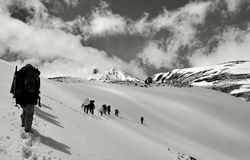 Ειρήνη στο μεγάλο υψόμετρο Στοκ Εικόνες