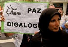 ειρήνη της Γάζας Στοκ Φωτογραφίες