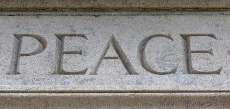 ειρήνη Στοκ εικόνα με δικαίωμα ελεύθερης χρήσης