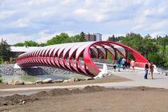 ειρήνη s του Κάλγκαρι γεφυρών Στοκ εικόνες με δικαίωμα ελεύθερης χρήσης