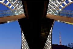 ειρήνη Tbilisi γεφυρών Στοκ εικόνα με δικαίωμα ελεύθερης χρήσης