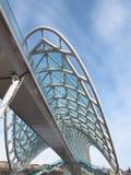 ειρήνη Tbilisi γεφυρών Στοκ Εικόνες